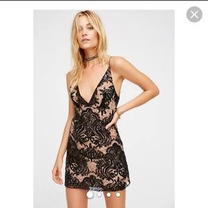 NEW NWT Free People M Size 8 Night Shimmer Dress